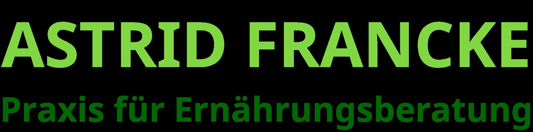 Ernährungsberatung Astrid Francke